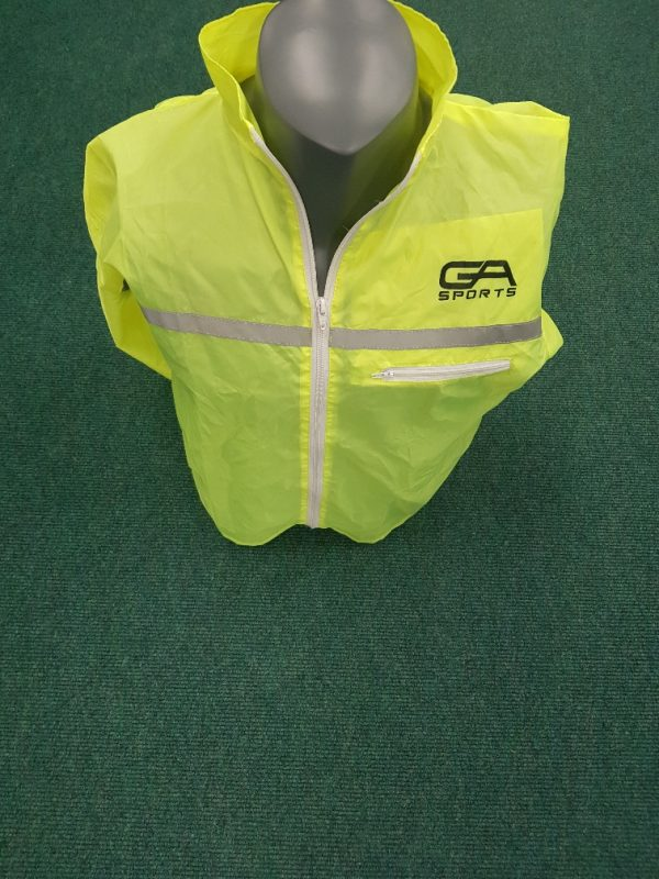 Reflective full sleeve training jacket - sports training equipment sold online by GA Sports