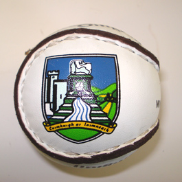 Personalised Sliotar - Limerick Crest- Hurling balls - sold by GA Sports