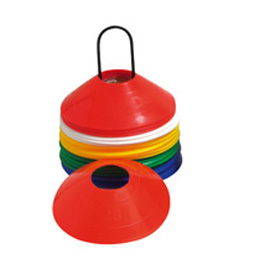 Marker & Dome Cone (set of 40)- Sports Cones - Saucer cones - hurling, camogie, sports training equipment - sold by GA Sports