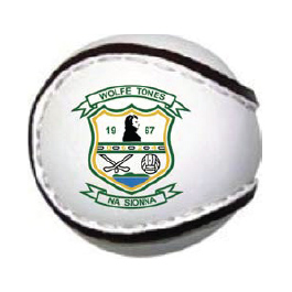 Club Logo Sliotar-sold by GA Sports