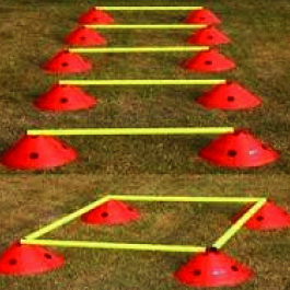 Mega Cone Agility Set- Gaelic Football, hurling, sports training - sports equipment sold by GA Sports