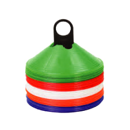 Saucer Cones- Sports training cones - sports equipment
