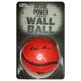 Richie Power Signature Wall Ball-206