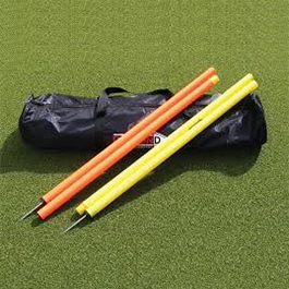 "Slalom Poles 68"" (set of 10 poles inc bag) - sports training equipment sold by GA Sports"