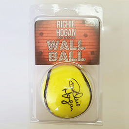 Richie Hogan Signature Wall Ball
