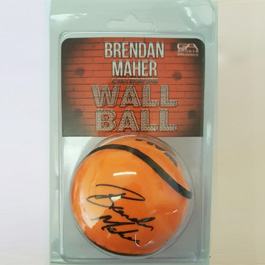 Brendan Maher Signature Wall Ball