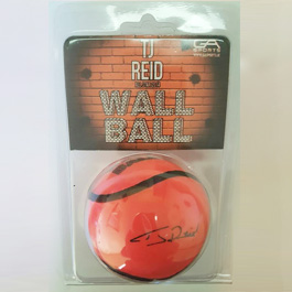 TJ Reid Signature Wall Ball-224