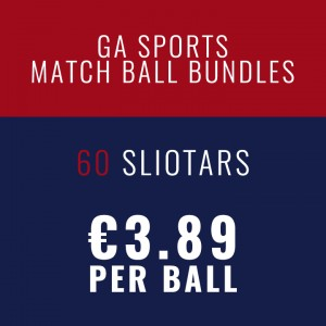 60 O'Connor Sliotar Match Ball bundles sold online by GA Sports