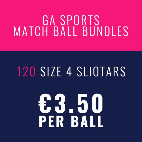 120 O'Connor Sliotar Match Ball size 4 bundles sold online by GA Sports