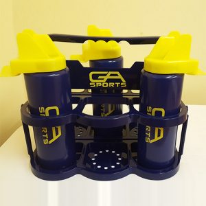 Carrier for 6 Chin Guard Bottles