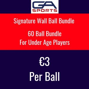60 Signature Wall BAll Bundle For Under Age Players €3 a ball