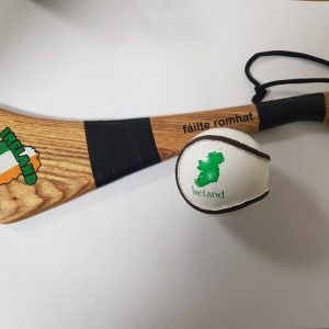Ireland sliotar ball and hurley gift idea