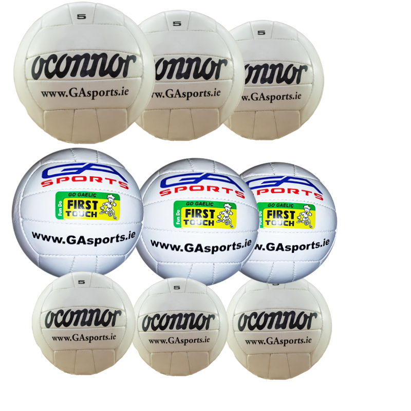 Gaelic Footballs - First touch, smart touch , quick touch and match balls by GA Sports