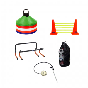 Sports Equipment for Training - hurdles. cones, bags by GA Sports