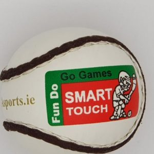 Smart Touch Sliotar - Gold writing by Ga Sports - Hurling ball for ages 10 to 12